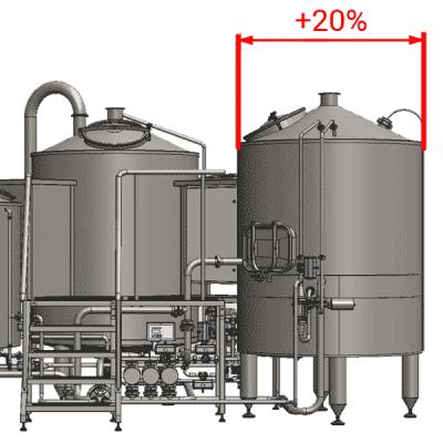 EFT : Enlarged filtering tanks