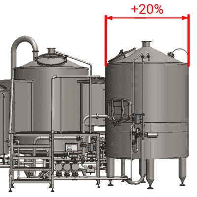 OEFT - Enlarged filtering tanks