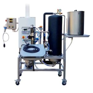 GPBBF-300MG Gas pasteuriser and filling system of BAG-IN-BOX 300 liters/hr for non-carbonized beverages