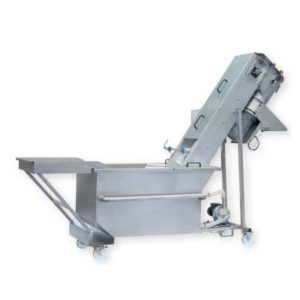 FWC-2000P-A : Fruit washer-crusher 2000kg/hour with pump