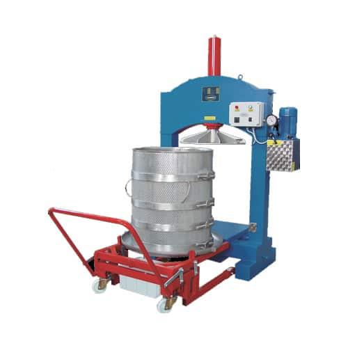 HPF 600S 01 - HPF-700ES Electric hydraulic fruit press 330 liters - hpf