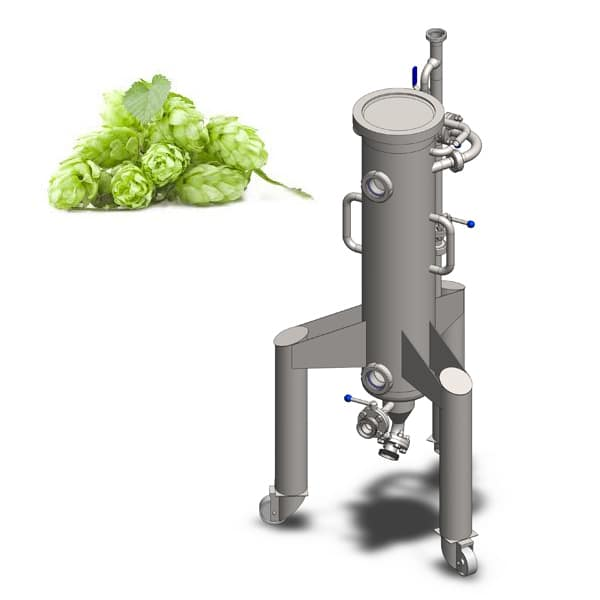 Hopgun 25 600x600 - CCTM-1200A3  Modular cylindrically-conical fermentation tank 1200/1473 L - a3, a3sets