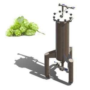 HX-60 The hop extractor 60 liters for extraction hops into cold beer