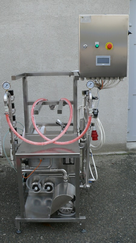 KCA-25 Keg rinsing and filling machine