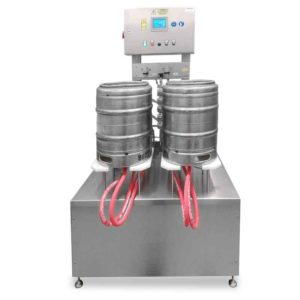 KRF-42 Machine for the semiautomatic rinsing and sanitizing of kegs 25-40 kegs/hour