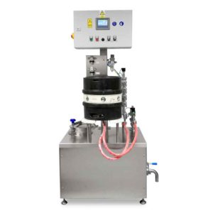 KRF-21 Machine for the semiautomatic rinsing and sanitizing of kegs 12-20 kegs/hour