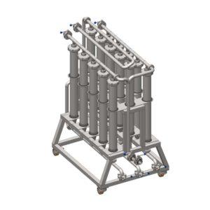 MFCS-2000 Microfiltration station 2000 L/hr
