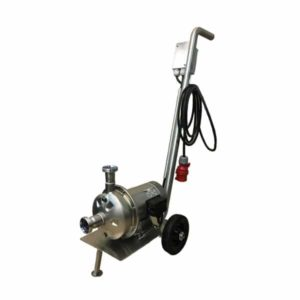 MP-75 : Mobile centrifugal pump 750W, Stainless steel