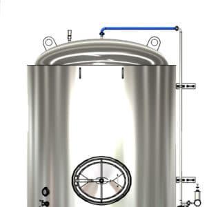 MTS CS1 A1 001 500x500 300x300 - MTS-CS1-DN25TT Upper sanitizing pipe DN25TC/DN25TC without valve - cm-cs1, spu, mts-spu