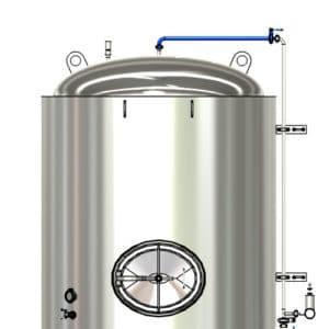 CS1 Upper CIP pipe for the modular fermentation tanks