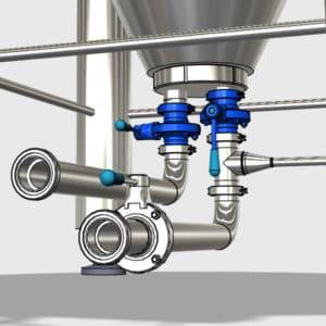 Buterrfly flap valves