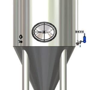 Pressure adjusting fermentation apparatus