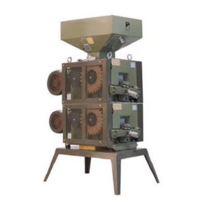 MM-1800-2 : Malt mill – machine to squeezing of malt grains, 5,5 kW – 1800kg / hour – double unit with four rollers