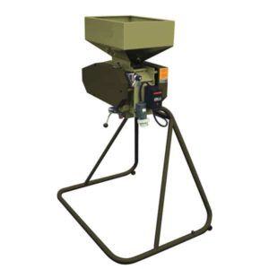 MMR-100 : Malt mill – machine to squeezing of malt grains, 2.2 kW 400-700 kg/hr – hardened rollers