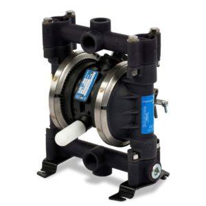 PDP-VA20SSTF Pneumatic SS/PTFE diagphragm pump 1.8-3.5 m3/hr