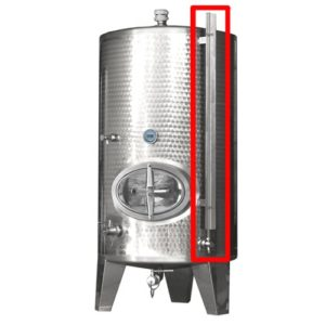 TEA-FLI-DN10-1 Filling level indicator DN10 up to 999 litres