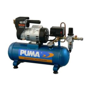ACO-4M Air compressor 4.3 m3/hour with filtration & pressure tank