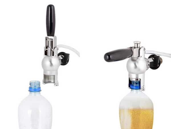 bfm 02 pet bottle filler 03 - BFM-02 Filling valve for PET-bottles - hfp, mbf