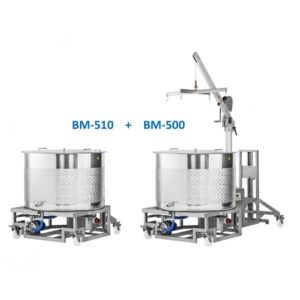 BM-510 : Additional brewing boiler for the BREWMASTER BM-500