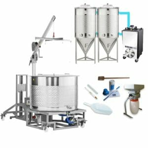 Microbrewery BREWMASTER BSB-501-F185SNP
