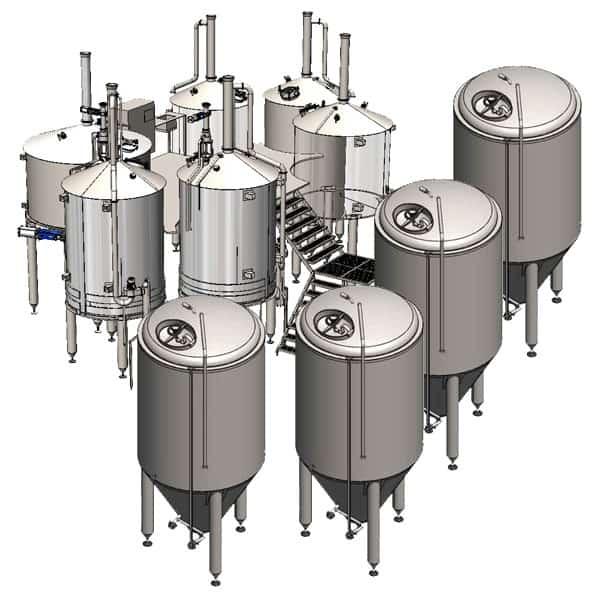 BREWORX OPPIDUM 6000 industrial breweries