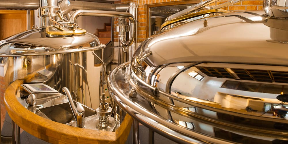 Breworx Classic 2000 breweries - beer production system for middle-size restaurants