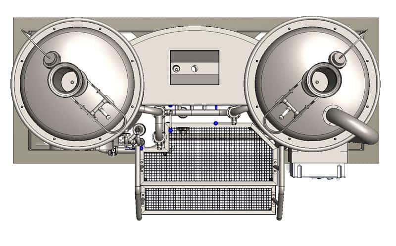 brewhouse breworx modulo 250 pudorys - MODULO LITE-ME 250 : Wort brew machine - the brewhouse - bwm-bhm, bhm