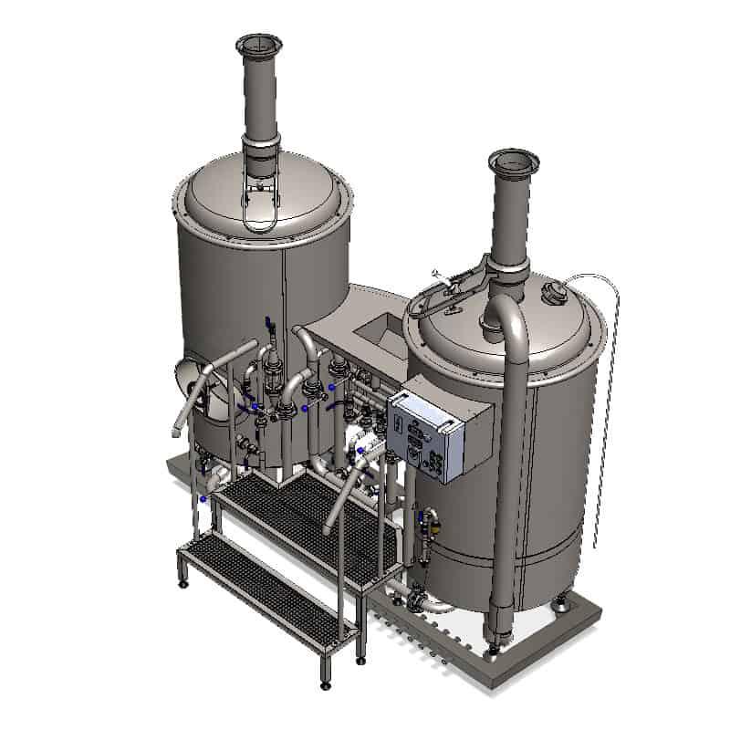 brewhouse breworx modulo liteme 250pmc 001 - MODULO LITE-ME 250 : Wort brew machine - the brewhouse - bwm-bhm, bhm