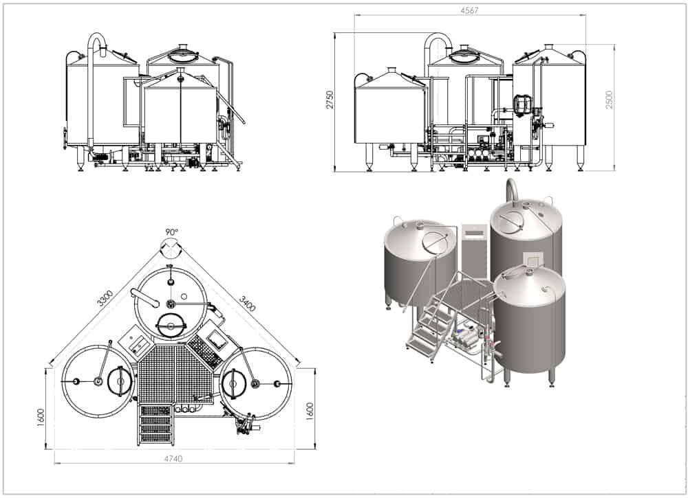 brewhouse-breworx-tritank-1000-dimensions