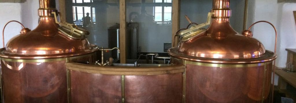 Brewery BREWORX CLASSIC BSB-602-1200L with the copper wort brew machine CLASSIC 600