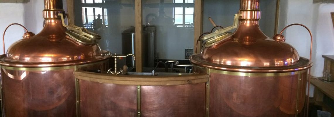 Breworx Classic - the brewhouse machine with classic Czech design for restaurant breweries