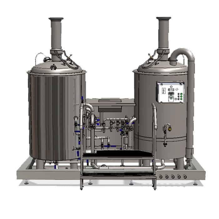brewhouse modulo liteme 250 02 - MODULO LITE-ME 250 : Wort brew machine - the brewhouse - bwm-bhm, bhm