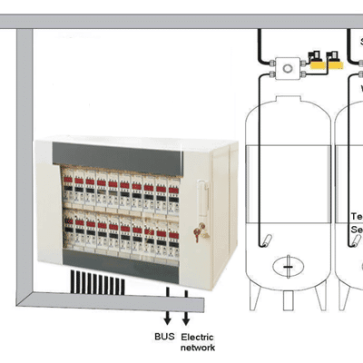 CCTCS : Central cabinet temperature control system