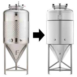 TIJ-CT-1000DE Insulation jacket for CCT-SLP/SHP-1000DE fermentation tank