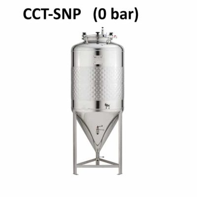 CCT-SNP Cylindrically-conical fermentation tanks, simplified, non-insulated, non-pressure 0.0bar