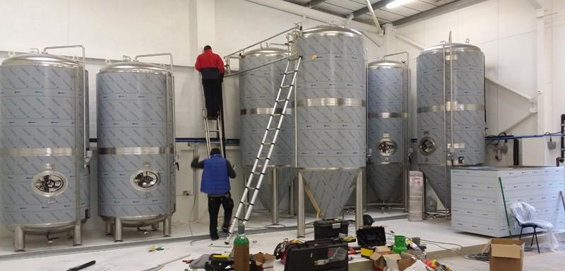 CIDER LINE PROFI 3000A-2880E - The cider production line - the cider fermentation equipment