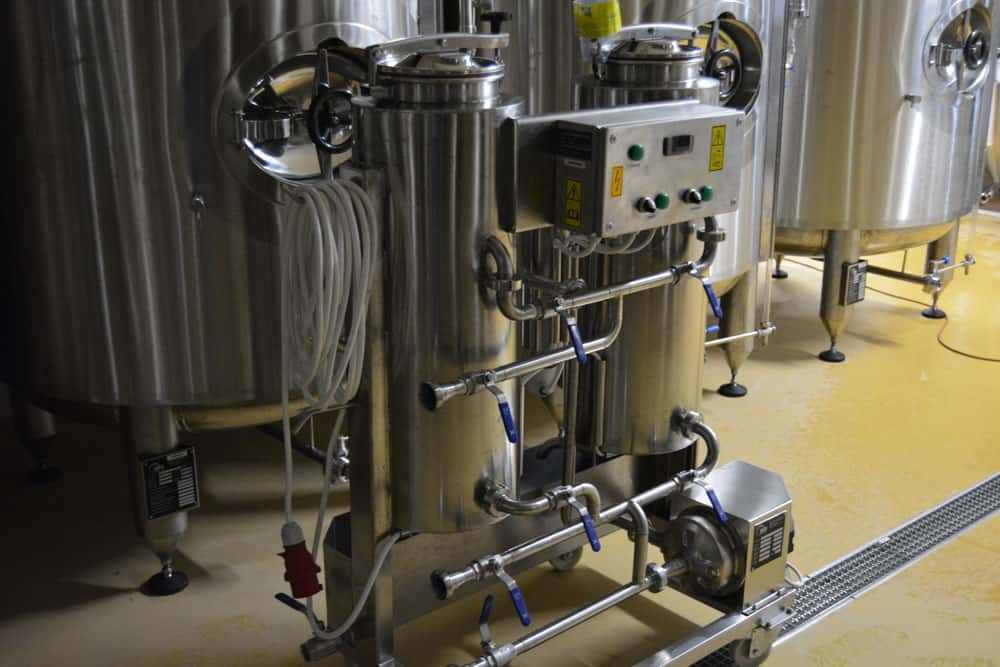 CIP-52 cleaning and sanitizing machine in the newest version