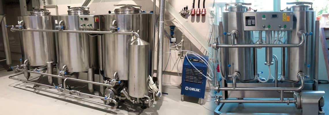 CIP - máquinas de limpeza e higienização