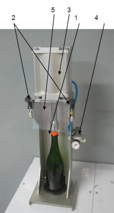 crw m1 scheme - CRW-M1 Pneumatic capping machine for bottles - fbb, bcm
