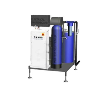 ESG-16MWT Electric steam-generator compact 16kg/hr (on the stainless steel frame, with water treatment)