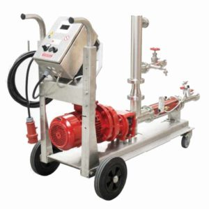 MFE-40S Flotation equipment 400-4000 l/hour with screw pump