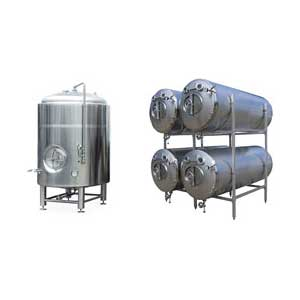 Pressure storage tanks
