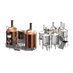Wort brew machines