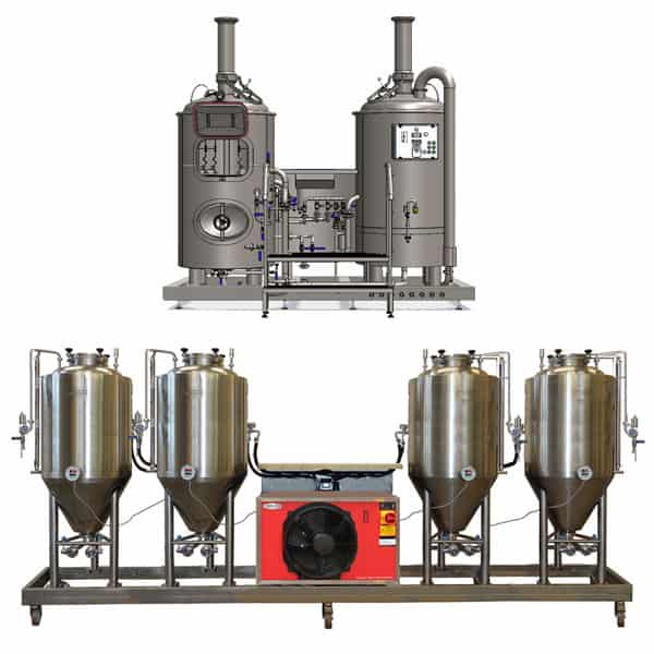 microbreweries breworx modulo 2x250 - MODULO CLASSIC 250 : Wort brew machine – the brewhouse - bwm-bhm, bhm