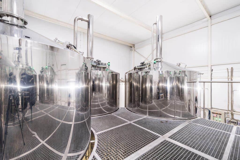 BREWORX OPPIDUM 5004 industrial breweries - the OPPIDUM 5000 wort brew machine