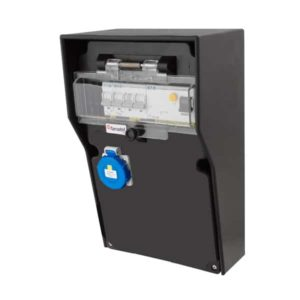 RB-1192 Electric cabinet from 230V16A to 1x230V/2x24V IP65
