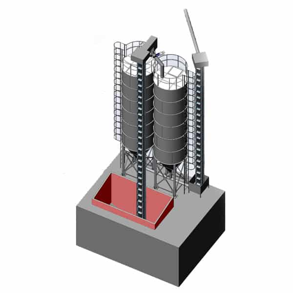 ssm silos storage malt 600x600 01 - MSS-2x40 Malt storage silo 2x40m3 - the fully equipped system - storage-silos