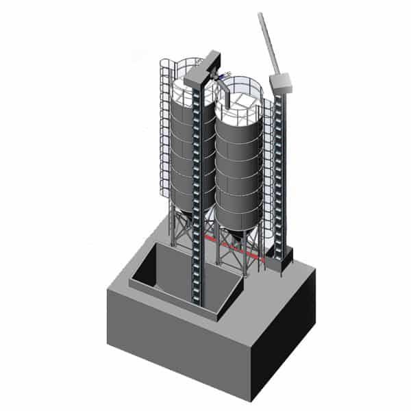 ssm silos storage malt 600x600 06 - MSS-2x40 Malt storage silo 2x40m3 - the fully equipped system - storage-silos
