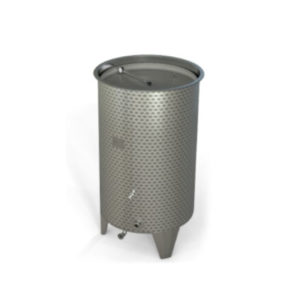 TFLCB-620 Tank with floating lid and conical bottom 620 liters